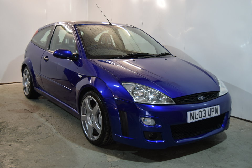 2003 Ford Focus MK1 RS, Just 43,155 Miles, FSH, Lovely Example! SOLD (picture 1 of 6)