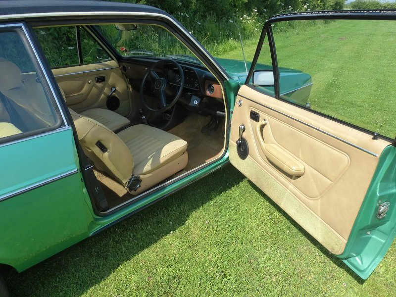 1977 Ford escort mk2 1300 ghia 2 door saloon For Sale (picture 4 of 6)