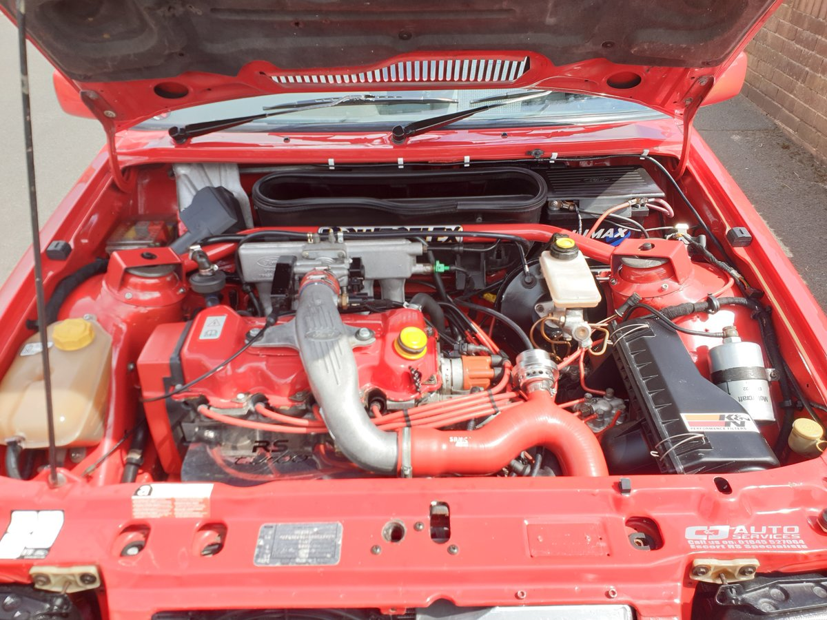 1989 Ford Escort RS Turbo S2 For Sale (picture 6 of 6)