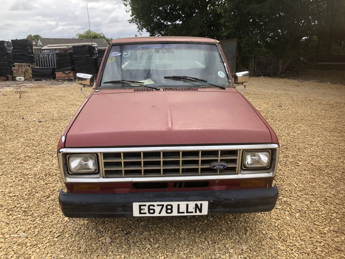 1988 Ford ranger 2.9i pickup mk1 lhd For Sale (picture 2 of 6)