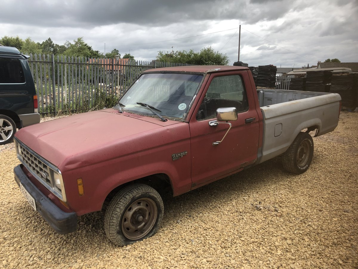1988 Ford ranger 2.9i pickup mk1 lhd For Sale (picture 3 of 6)