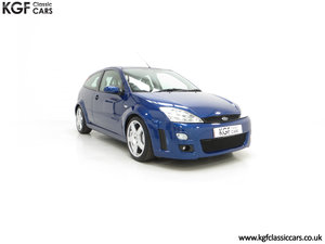 2003 An Early Build Ford Focus RS Mk1 with a Massive History File