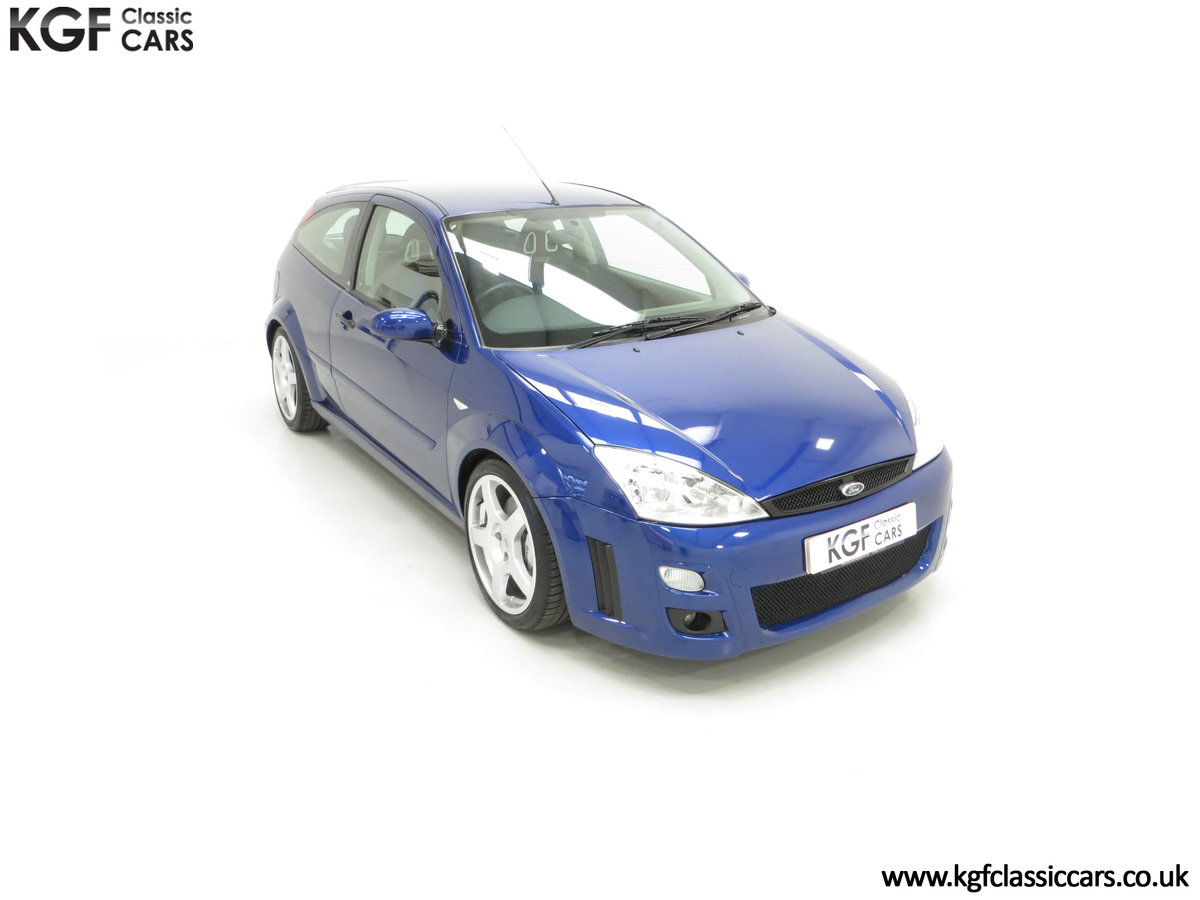 2003 An Early Build Ford Focus RS Mk1 with a Massive History File SOLD (picture 2 of 24)