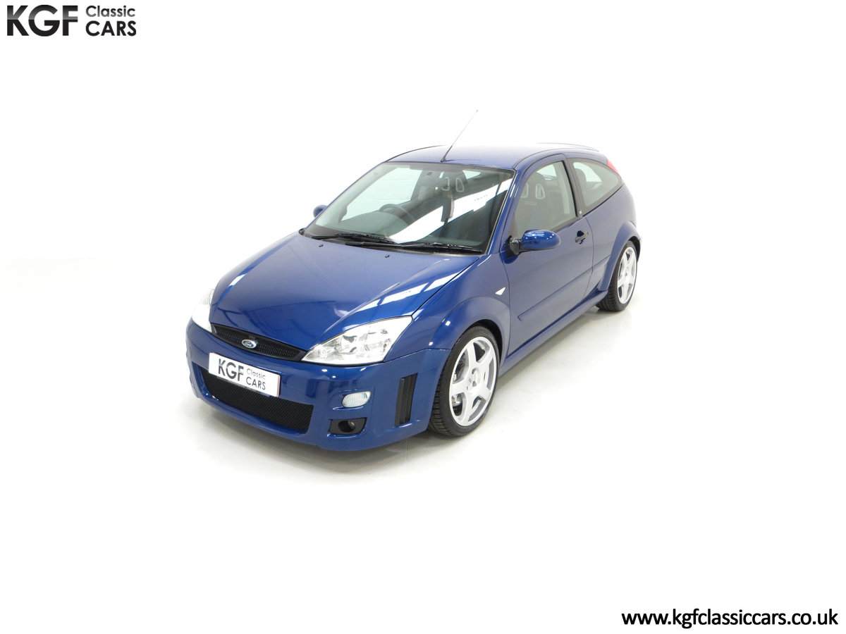 2003 An Early Build Ford Focus RS Mk1 with a Massive History File SOLD (picture 5 of 24)