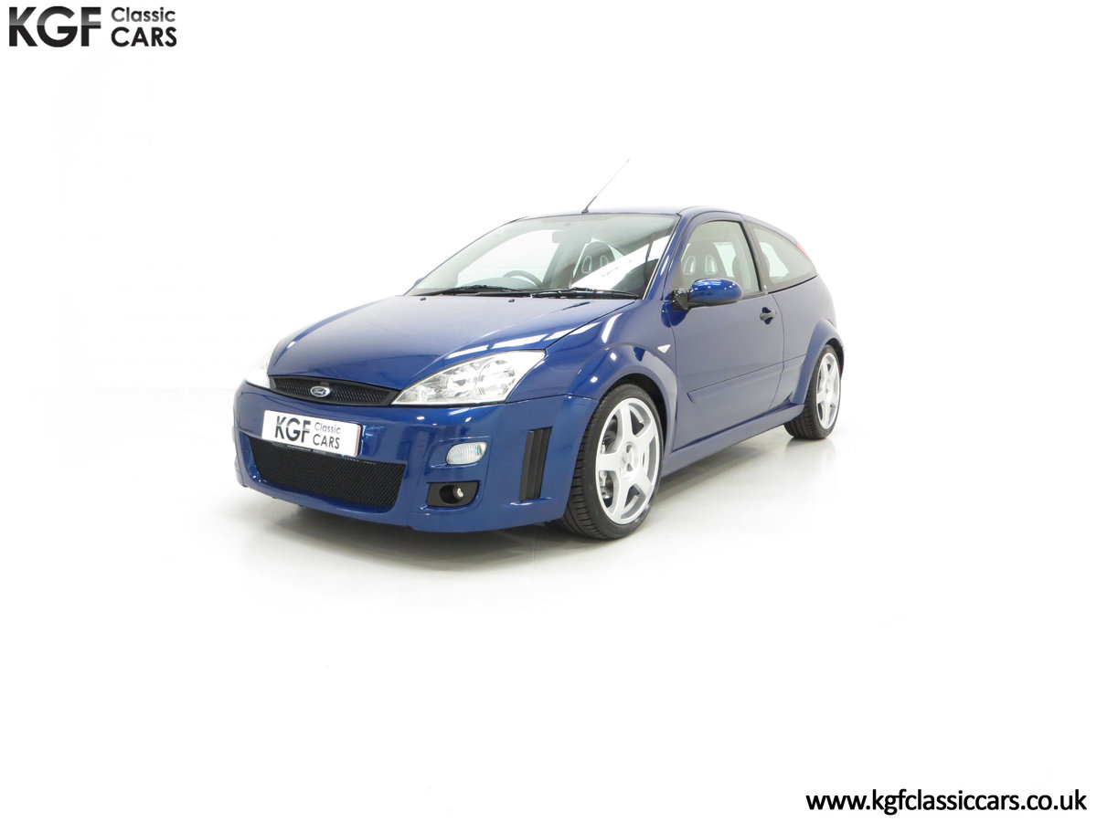 2003 An Early Build Ford Focus RS Mk1 with a Massive History File SOLD (picture 6 of 24)