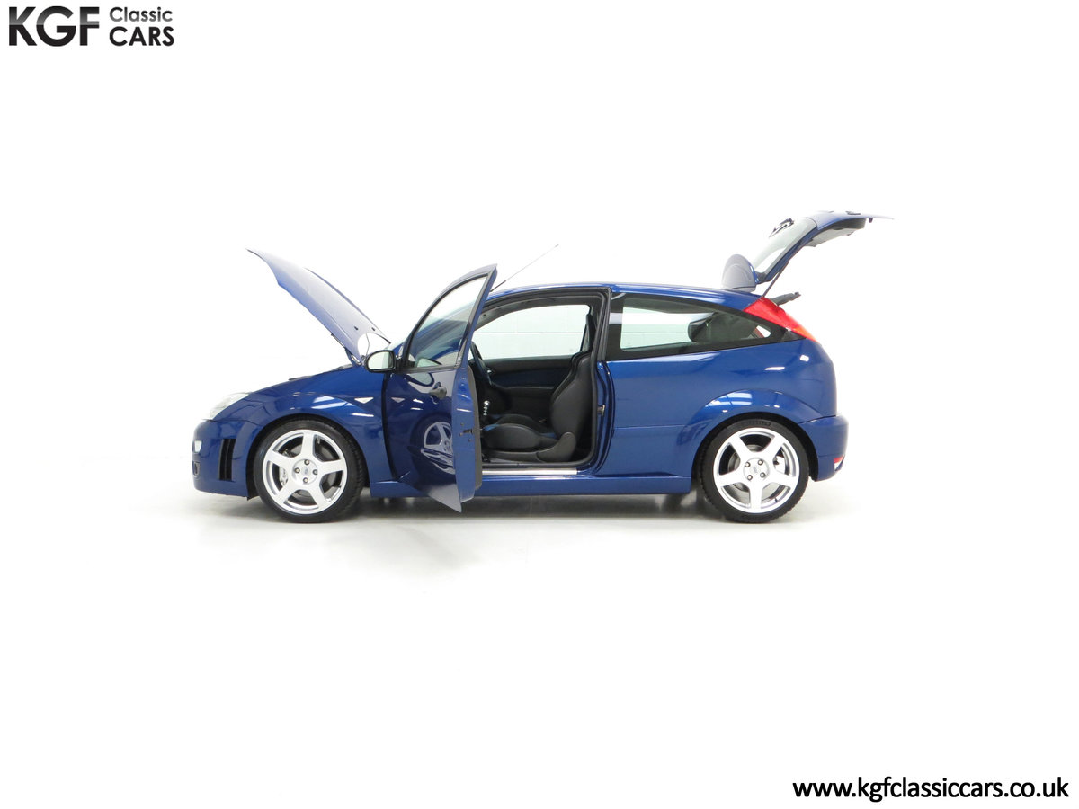 2003 An Early Build Ford Focus RS Mk1 with a Massive History File SOLD (picture 7 of 24)