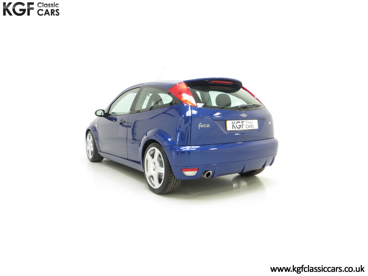 2003 An Early Build Ford Focus RS Mk1 with a Massive History File SOLD (picture 8 of 24)
