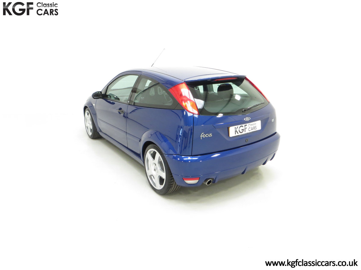 2003 An Early Build Ford Focus RS Mk1 with a Massive History File SOLD (picture 9 of 24)