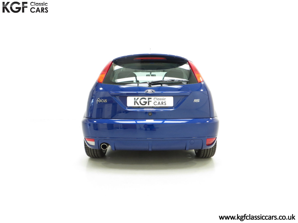 2003 An Early Build Ford Focus RS Mk1 with a Massive History File SOLD (picture 10 of 24)