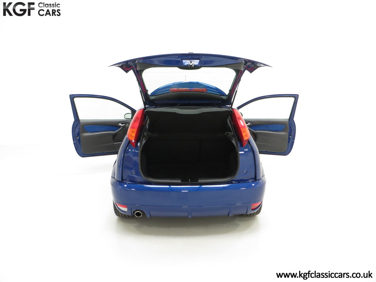 2003 An Early Build Ford Focus RS Mk1 with a Massive History File SOLD (picture 11 of 24)