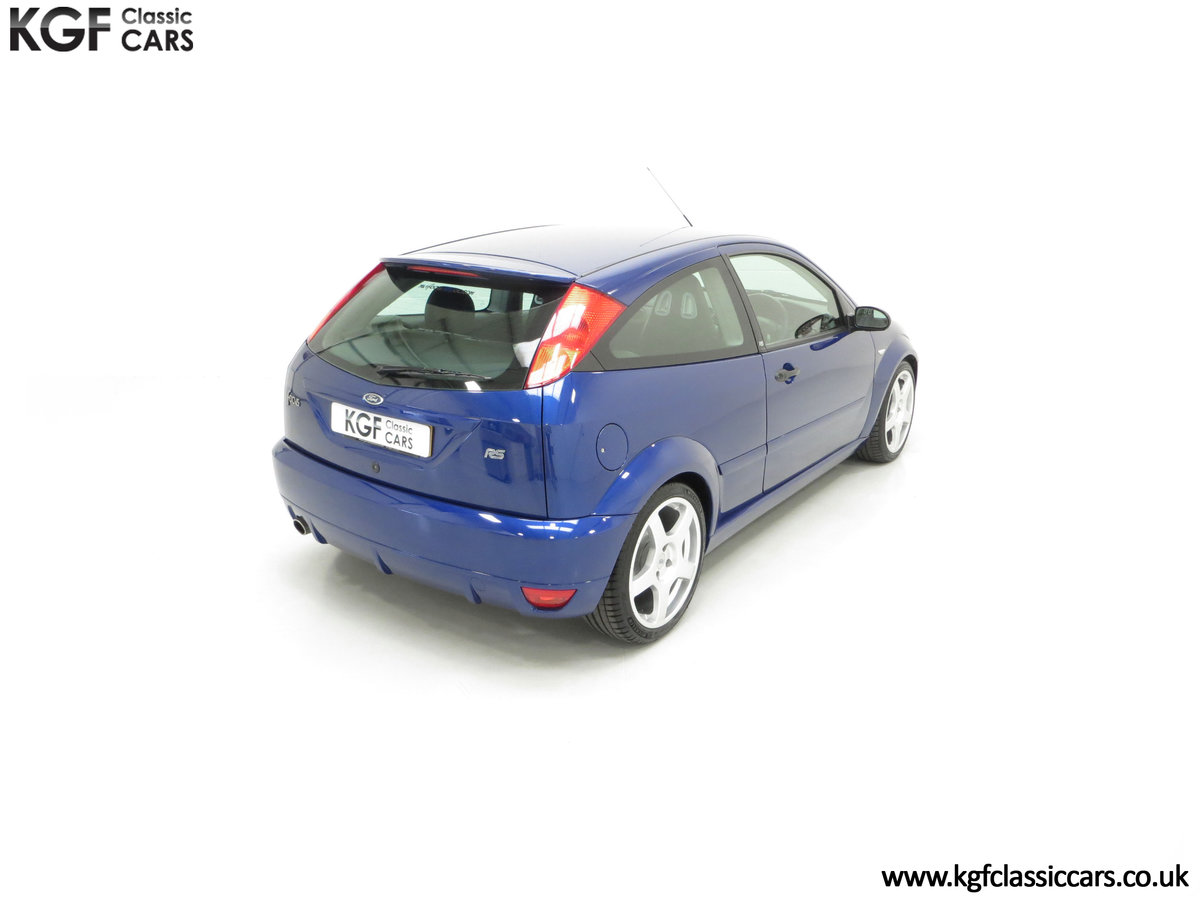 2003 An Early Build Ford Focus RS Mk1 with a Massive History File SOLD (picture 12 of 24)