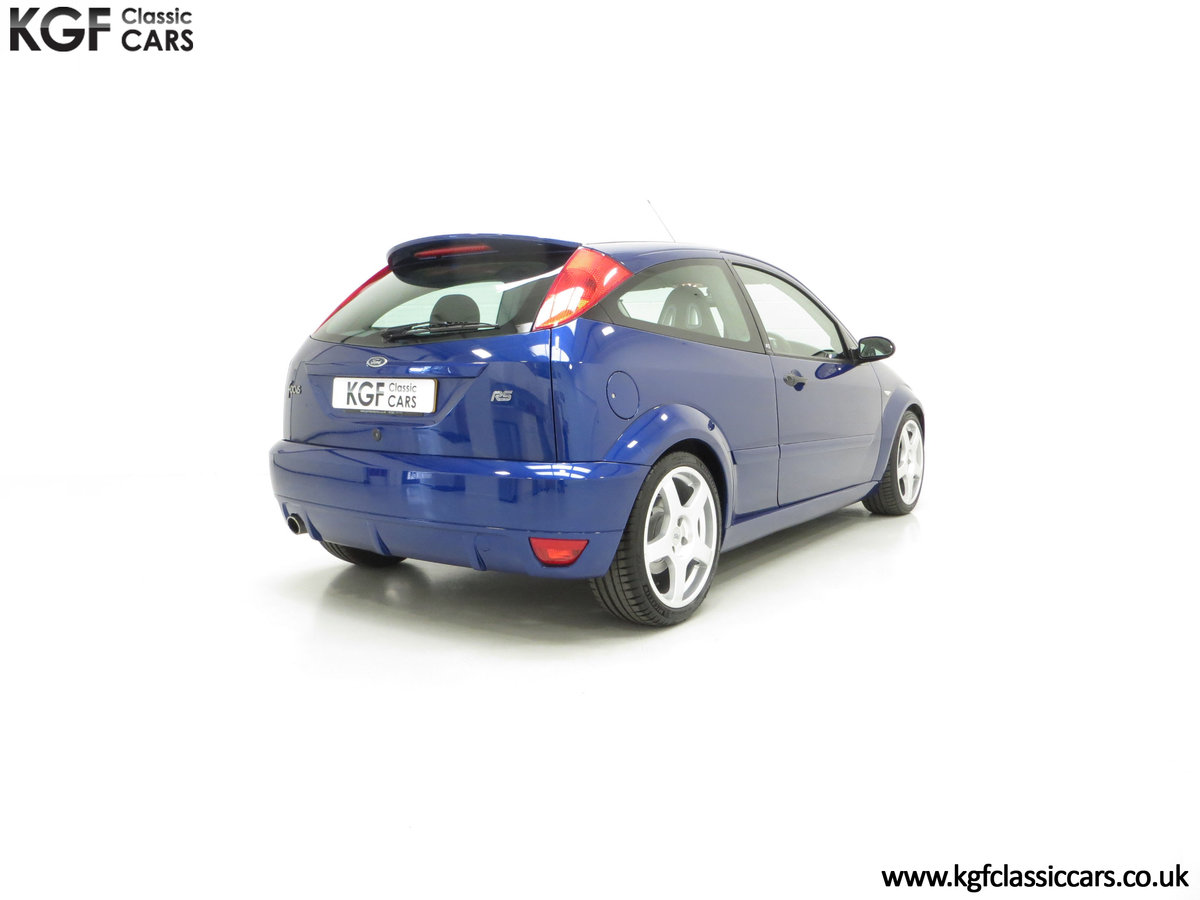 2003 An Early Build Ford Focus RS Mk1 with a Massive History File SOLD (picture 13 of 24)
