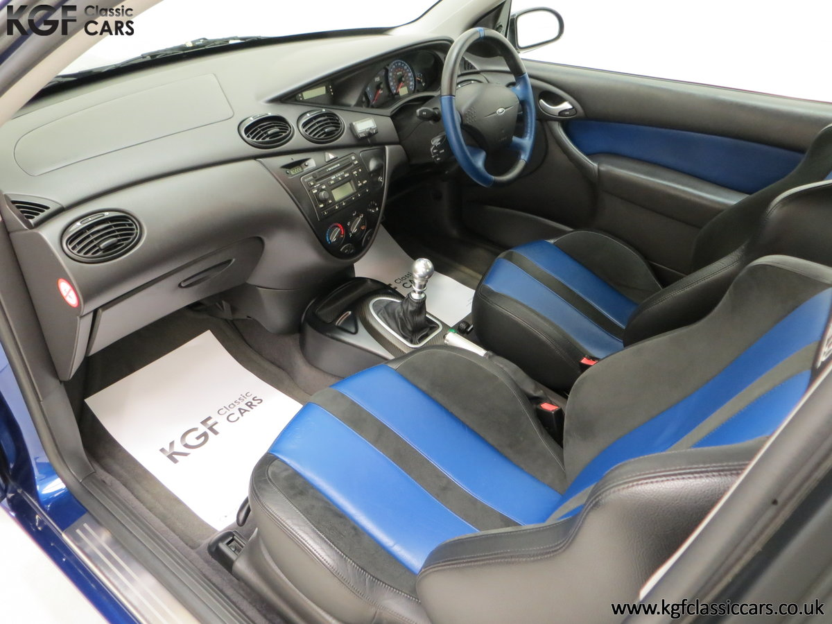 2003 An Early Build Ford Focus RS Mk1 with a Massive History File SOLD (picture 20 of 24)