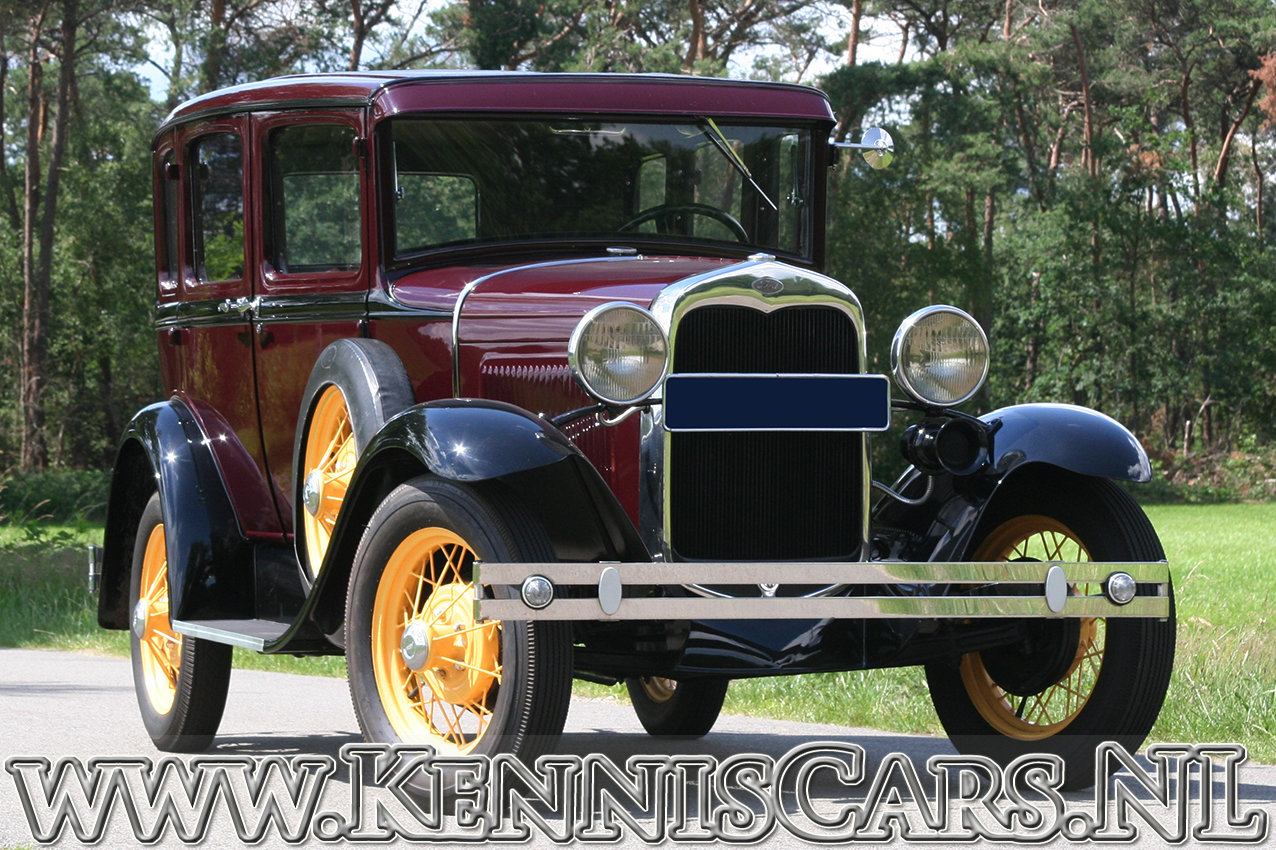 Ford 1930 Model A Seven Window Sedan For Sale (picture 1 of 6)