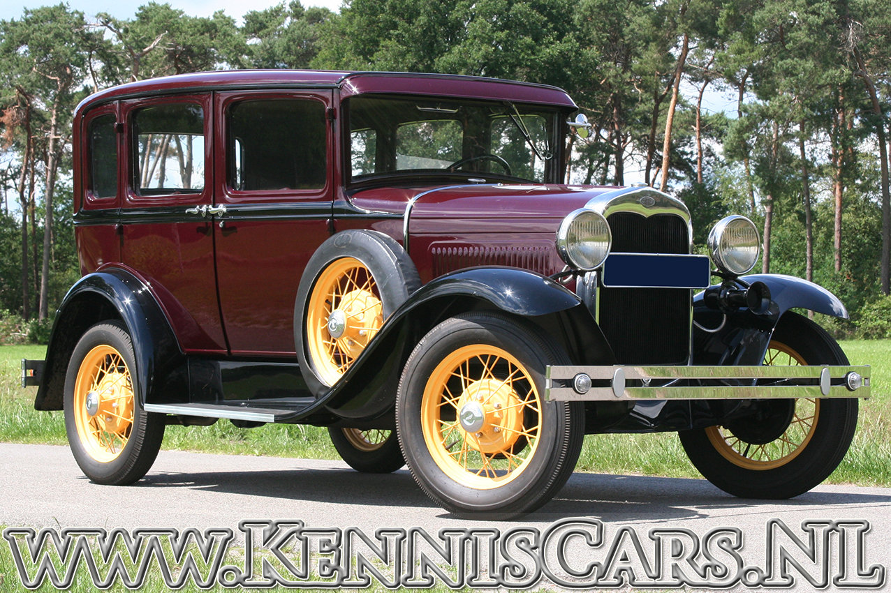 Ford 1930 Model A Seven Window Sedan For Sale (picture 2 of 6)