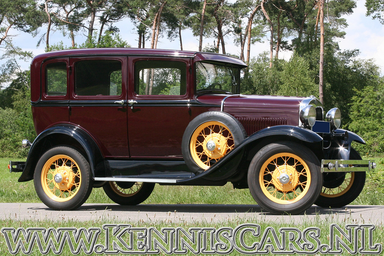 Ford 1930 Model A Seven Window Sedan For Sale (picture 3 of 6)