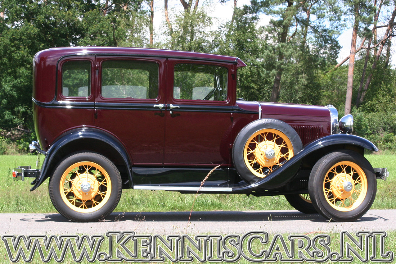 Ford 1930 Model A Seven Window Sedan For Sale (picture 4 of 6)