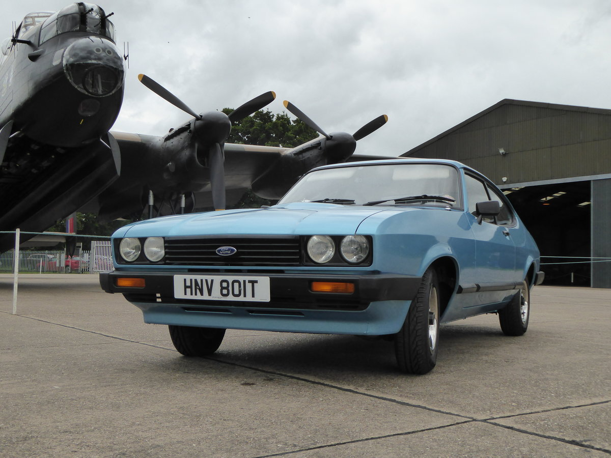 1979 Ford Capri 1.6 GL with only 32500 miles For Sale (picture 1 of 6)