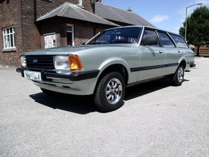 1981 Ford Cortina 2.0 GL Estate For Sale by Auction