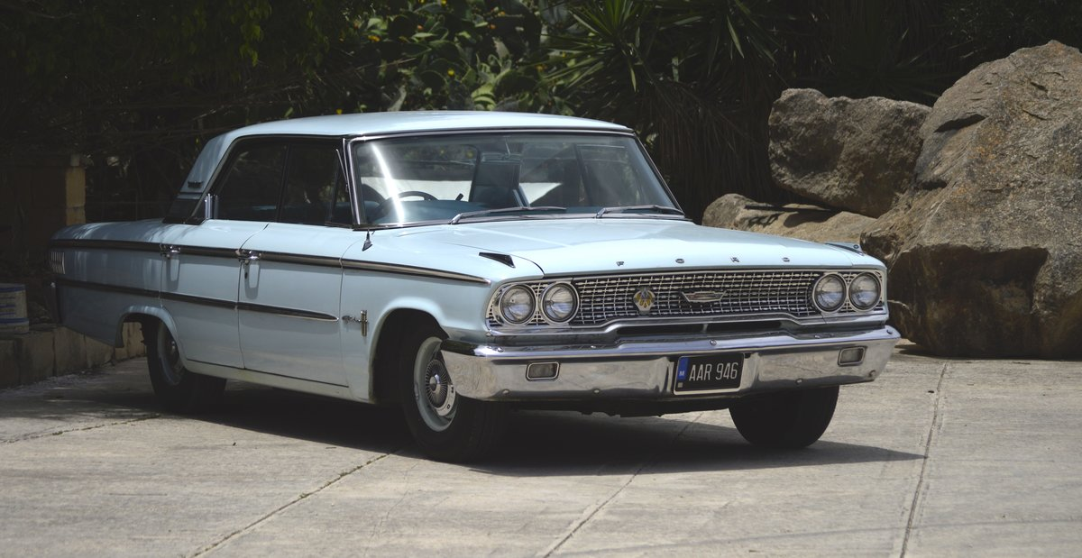 Ford Galaxie 500(5.8Lt) 1963 RHD 3 Speed Automatic For Sale (picture 1 of 6)