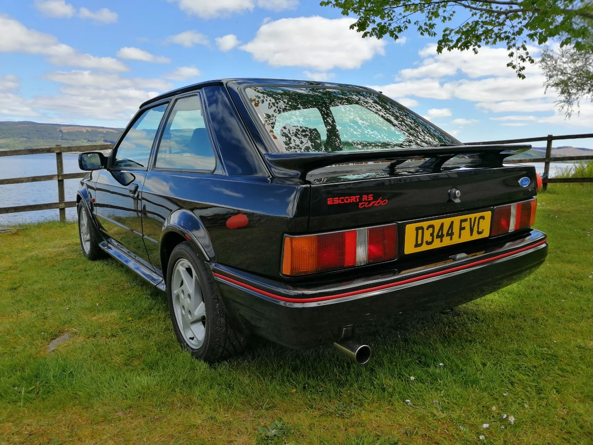 1987 Ford Escort RS Turbo S2 For Sale (picture 1 of 6)