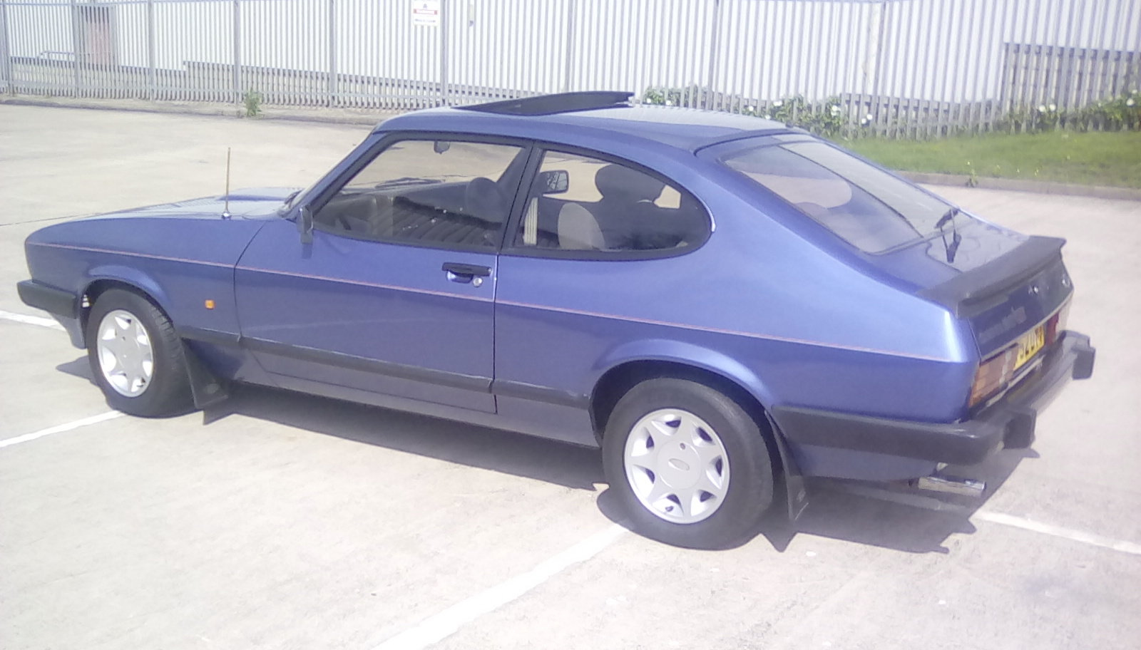 1987 Ford Capri 2.0 laser SOLD (picture 4 of 6)