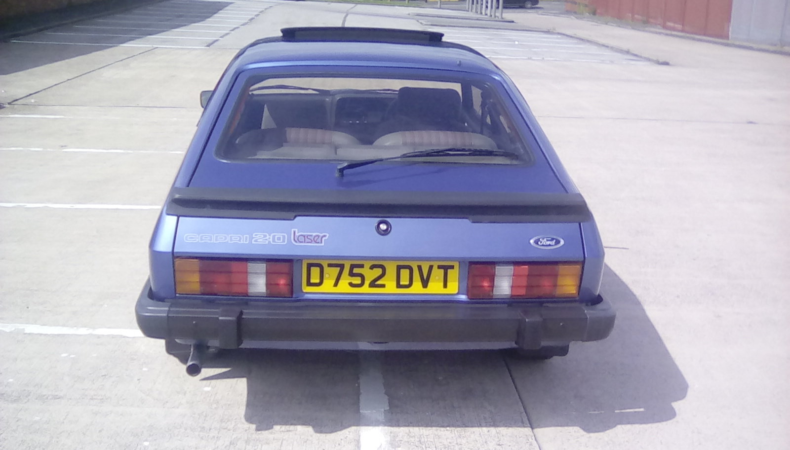 1987 Ford Capri 2.0 laser SOLD (picture 6 of 6)