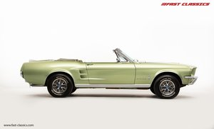 FORD MUSTANG CONVERTIBLE // 1967 FACTORY 4-SPEED MANUAL For Sale