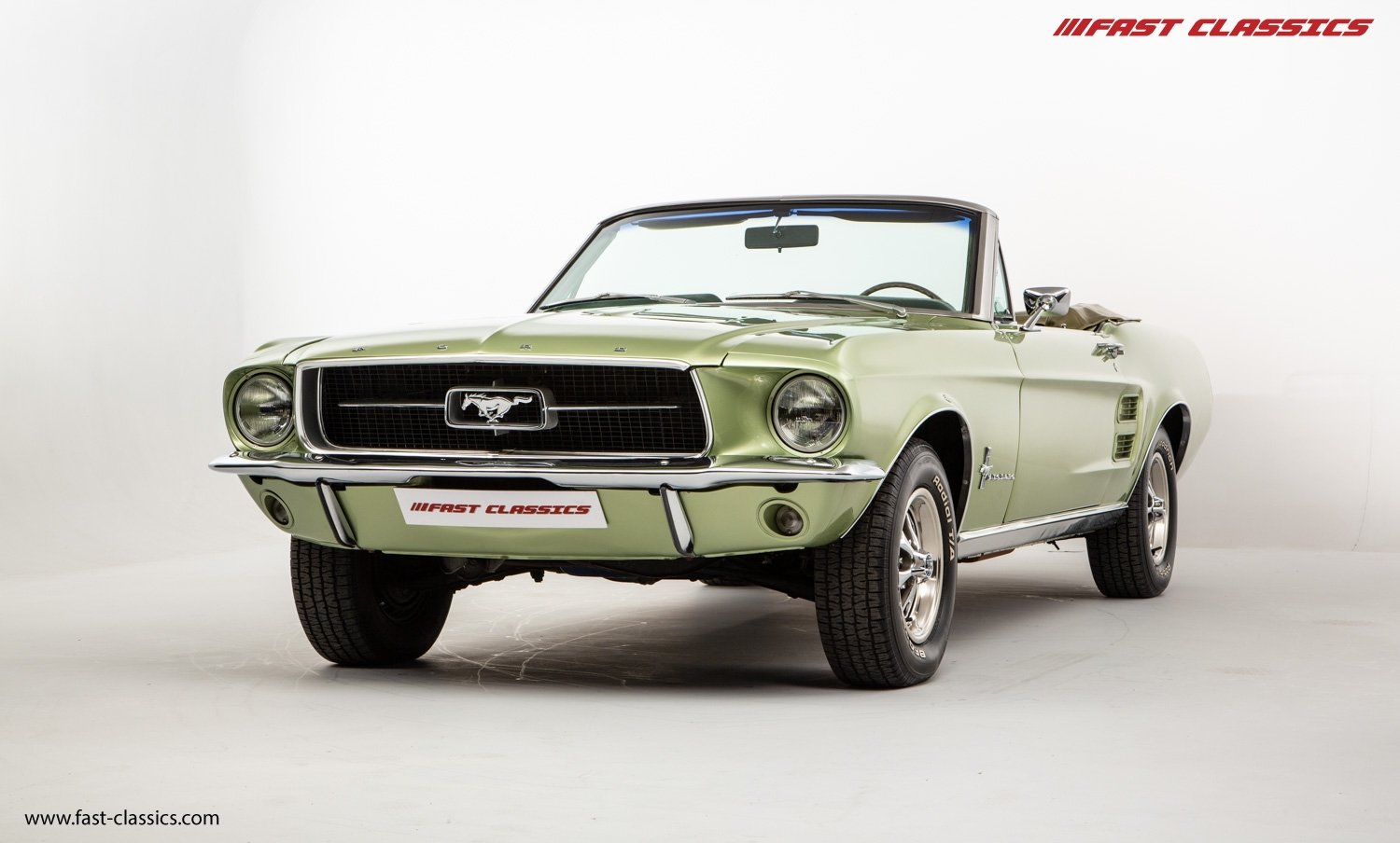 FORD MUSTANG CONVERTIBLE // 1967 FACTORY 4-SPEED MANUAL For Sale (picture 2 of 23)