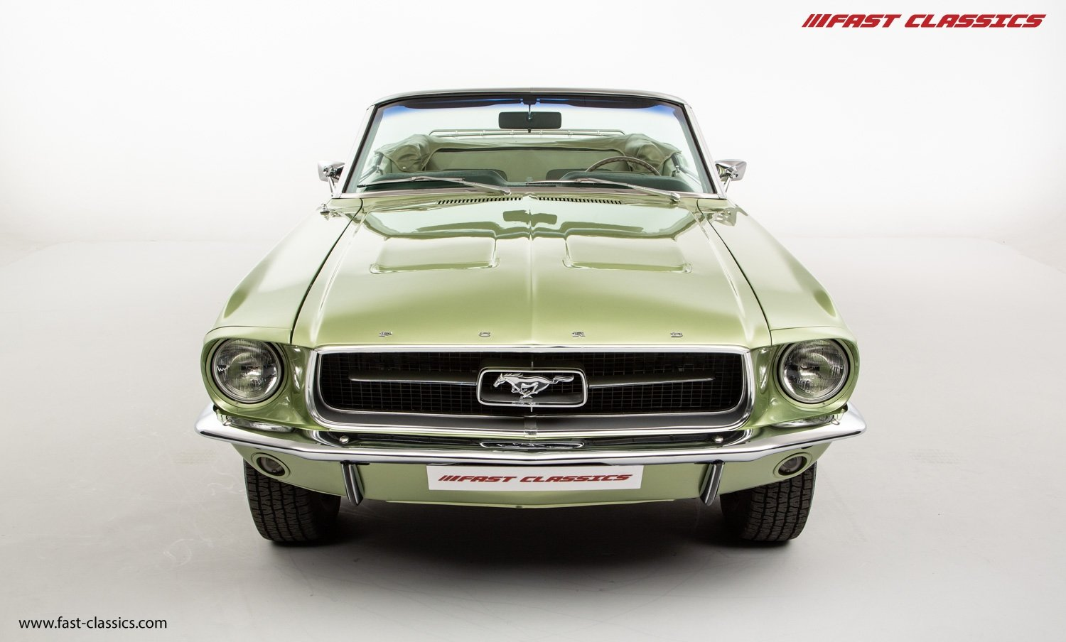 FORD MUSTANG CONVERTIBLE // 1967 FACTORY 4-SPEED MANUAL For Sale (picture 4 of 23)