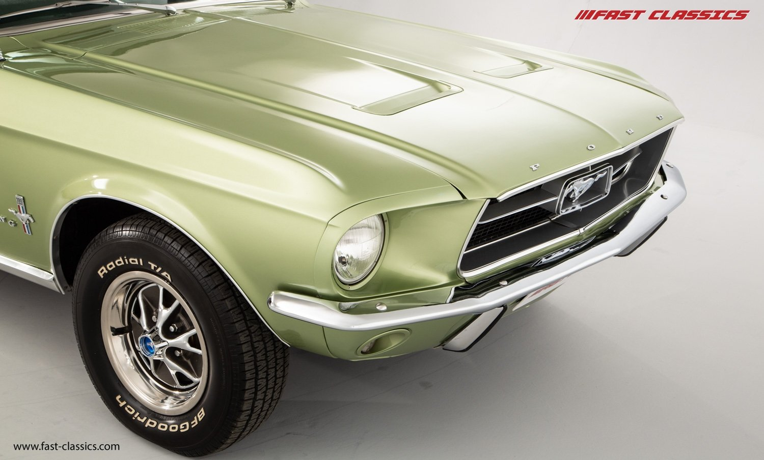 FORD MUSTANG CONVERTIBLE // 1967 FACTORY 4-SPEED MANUAL For Sale (picture 6 of 23)