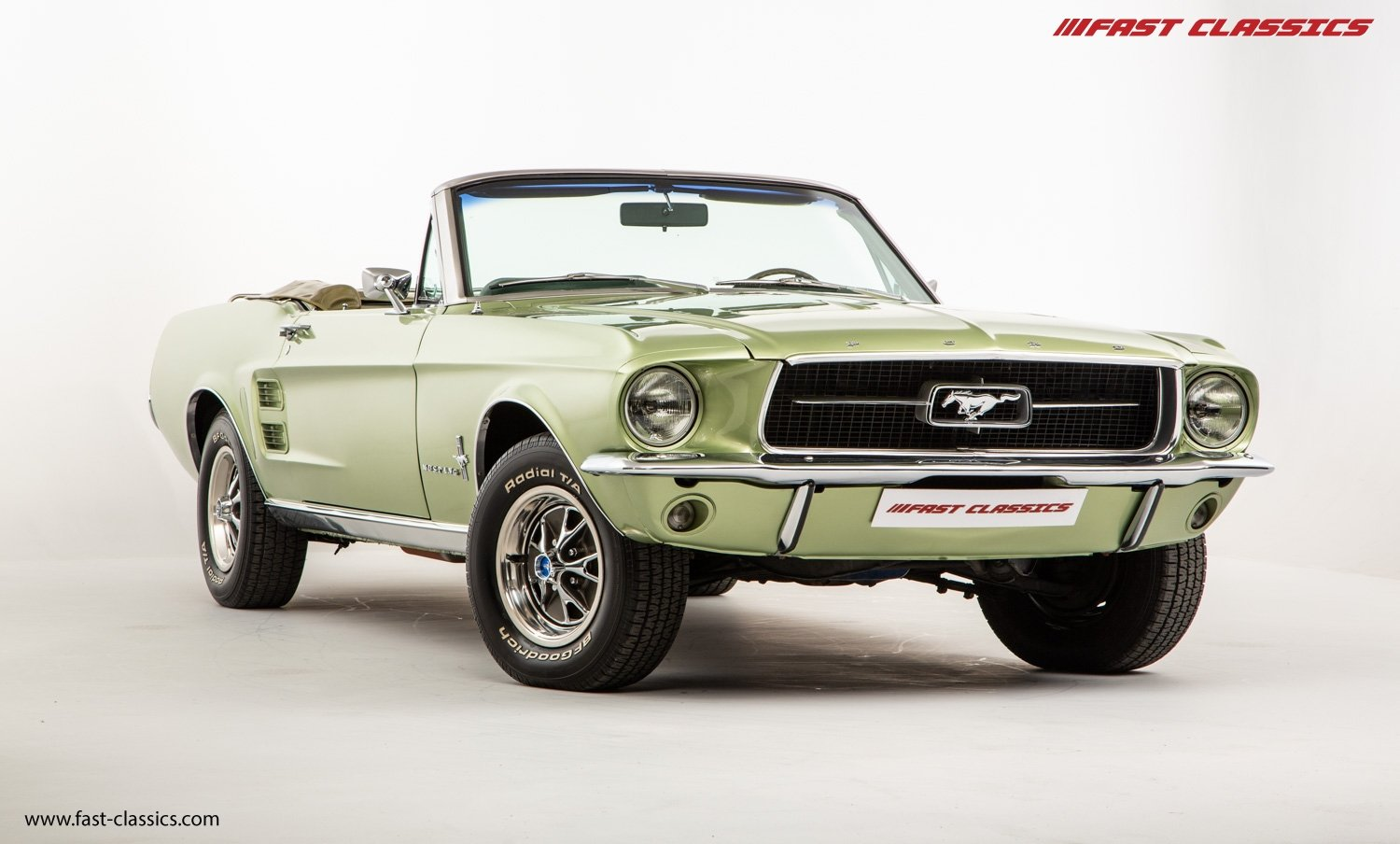 FORD MUSTANG CONVERTIBLE // 1967 FACTORY 4-SPEED MANUAL For Sale (picture 7 of 23)