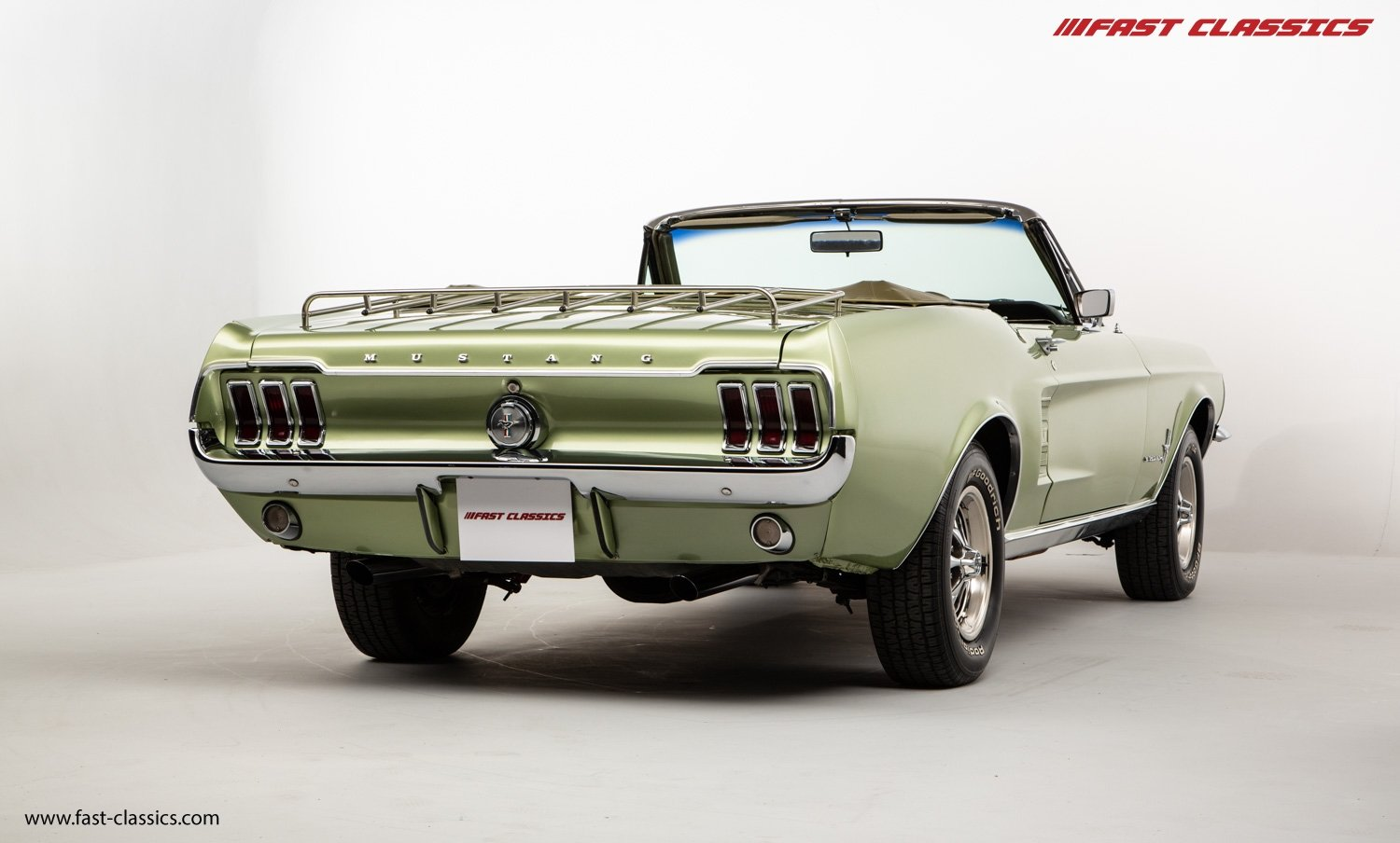 FORD MUSTANG CONVERTIBLE // 1967 FACTORY 4-SPEED MANUAL For Sale (picture 8 of 23)