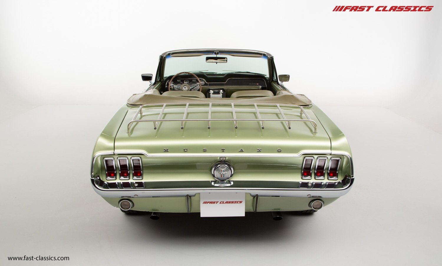 FORD MUSTANG CONVERTIBLE // 1967 FACTORY 4-SPEED MANUAL For Sale (picture 10 of 23)