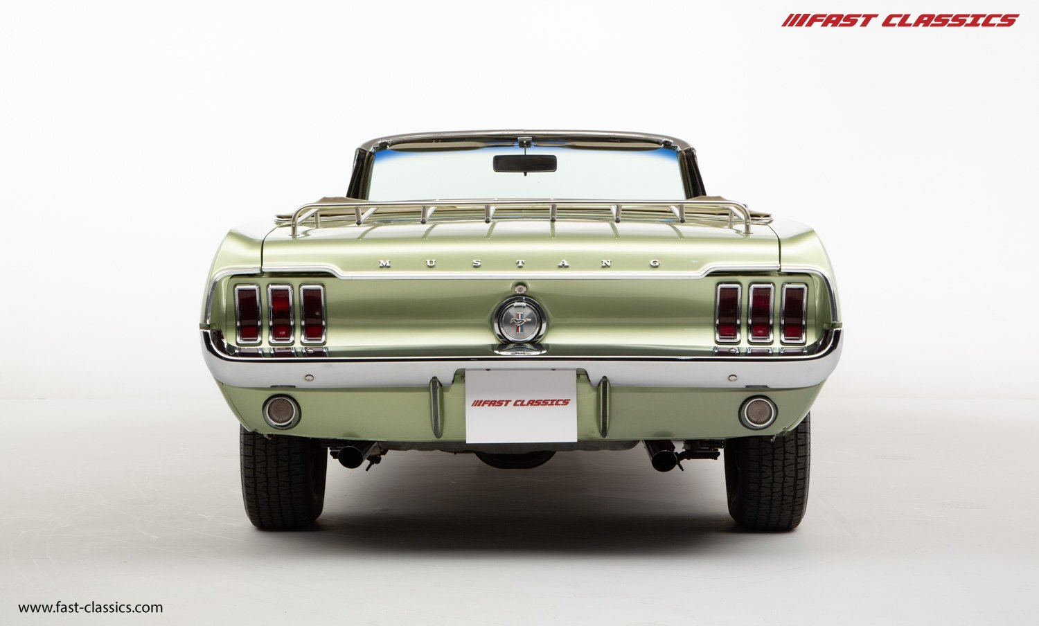 FORD MUSTANG CONVERTIBLE // 1967 FACTORY 4-SPEED MANUAL For Sale (picture 11 of 23)