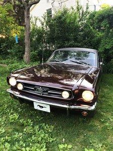 1965 Ford Mustang GT V8 5.8L 4 gears manual 300hp