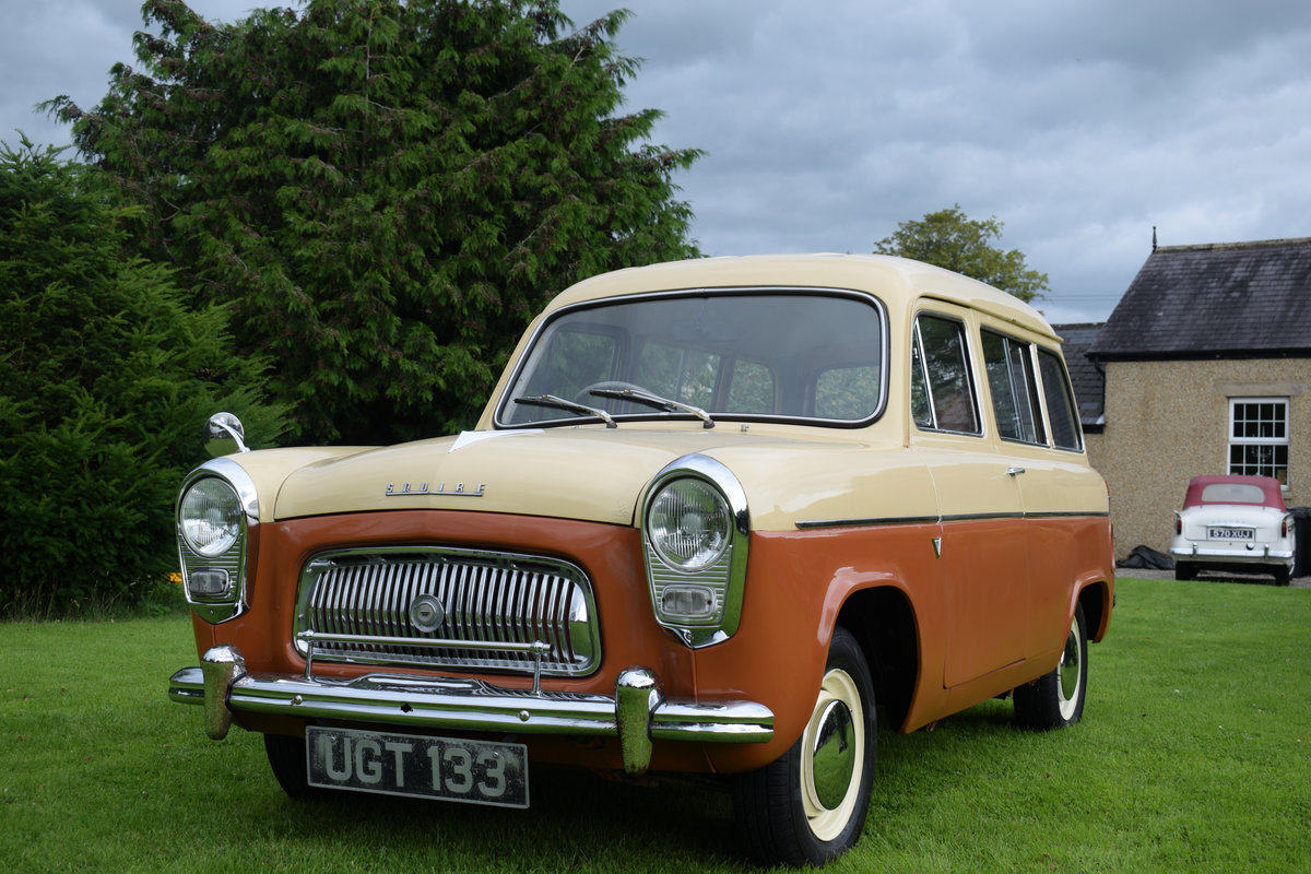 1958 FORD SQUIRE - MEGA RARE ESTATE, JUST DELIGHTFUL! SOLD (picture 1 of 6)