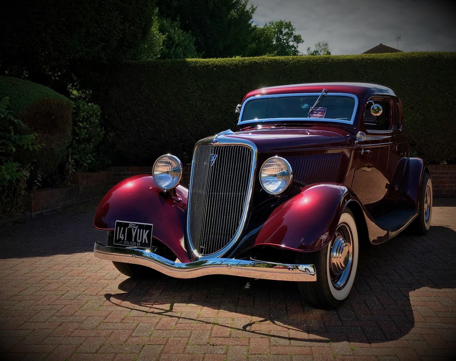 1934 Ford 5 Window Coupe - All Henry Ford Steel For Sale (picture 1 of 6)