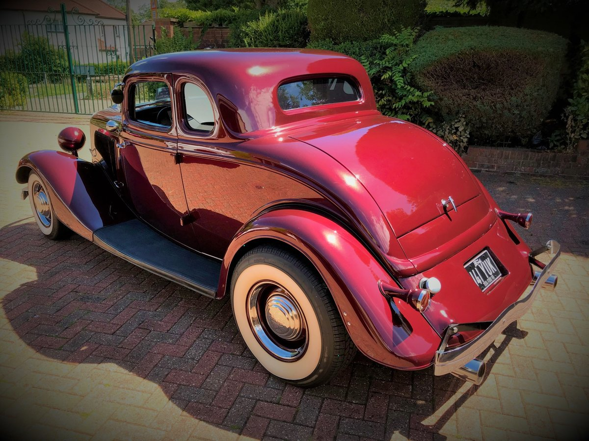 1934 Ford 5 Window Coupe - All Henry Ford Steel For Sale (picture 4 of 6)