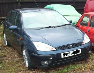 2003 FORD FOCUS 1.8TDCI SPORT  BLUE 4 DOOR HATCH