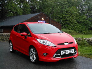 2009 Ford Fiesta 1.6 TDCI ZETEC S 90BHP NEW SHAPE + £20 TAX SOLD