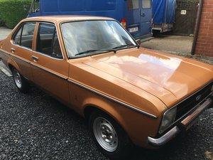 1977 Ford escort mk2 gl 1.1 19000km