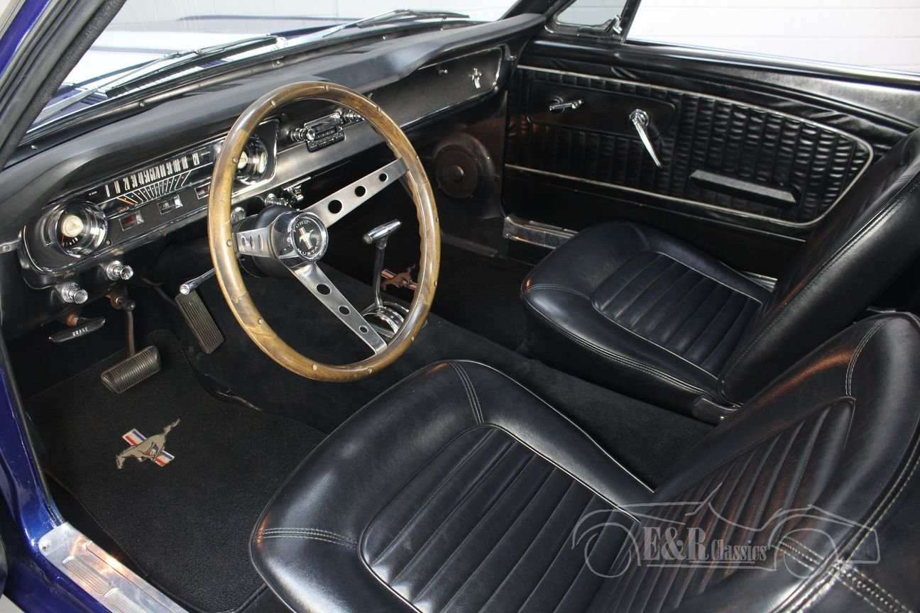 Ford Mustang V8 coupe 1965 In very good condition For Sale (picture 3 of 6)
