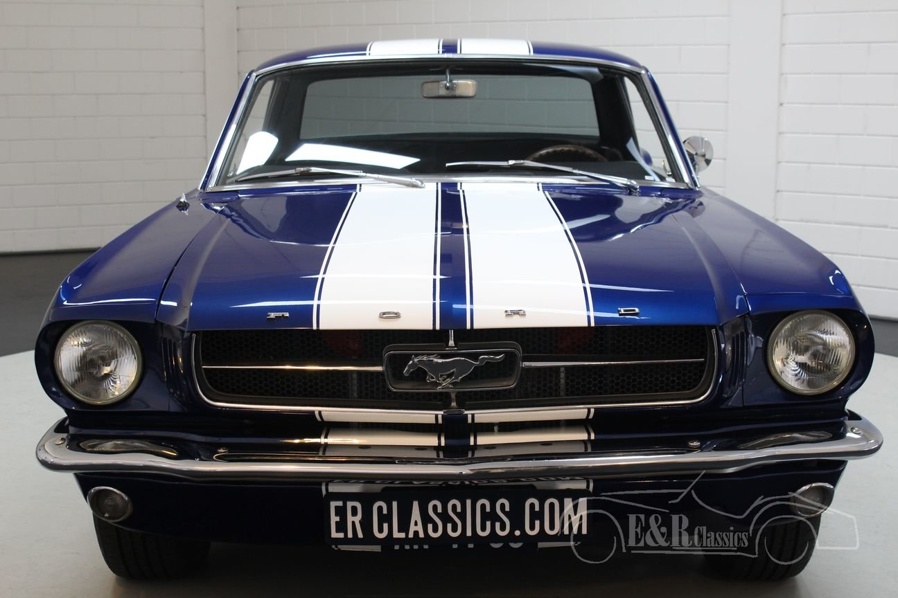 Ford Mustang V8 coupe 1965 In very good condition For Sale (picture 5 of 6)