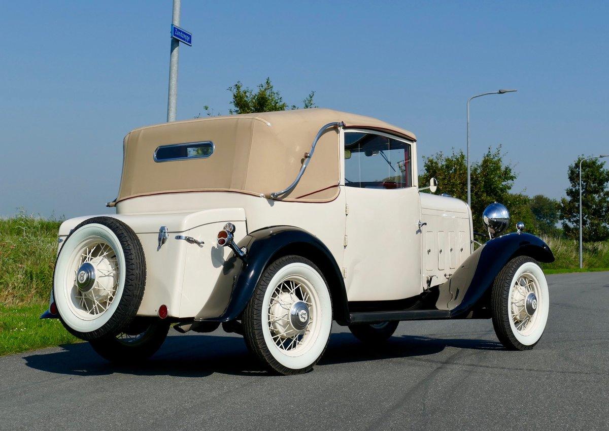 Ford V8 1932 Cabriolet Vandenplas , Mille Miglia For Sale (picture 2 of 6)