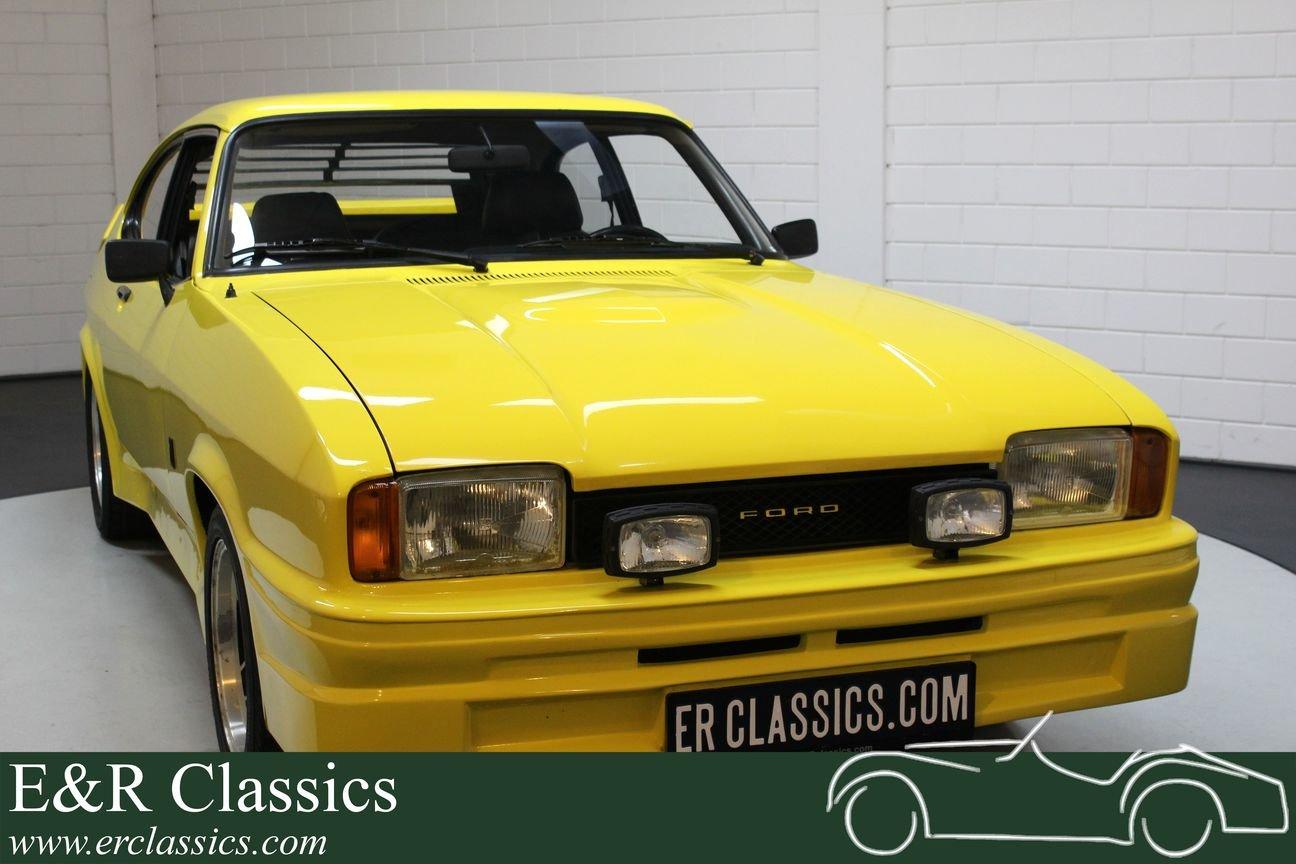Ford Capri Mk2 2000 S V6 1977 Chiquita For Sale (picture 1 of 6)