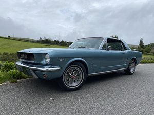 FORD MUSTANG V8 AUTO 1966 TOP FAC OPTIONS CALIF CAR MINTER!
