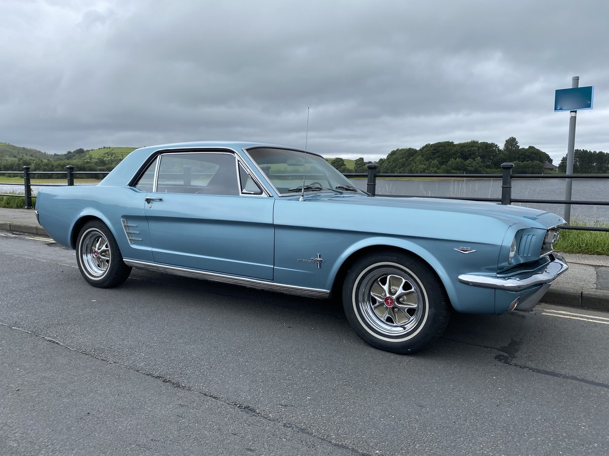 FORD MUSTANG V8 AUTO 1966 TOP FAC OPTIONS CALIF CAR MINTER! For Sale (picture 2 of 6)
