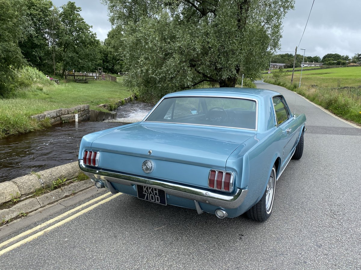 FORD MUSTANG V8 AUTO 1966 TOP FAC OPTIONS CALIF CAR MINTER! For Sale (picture 3 of 6)