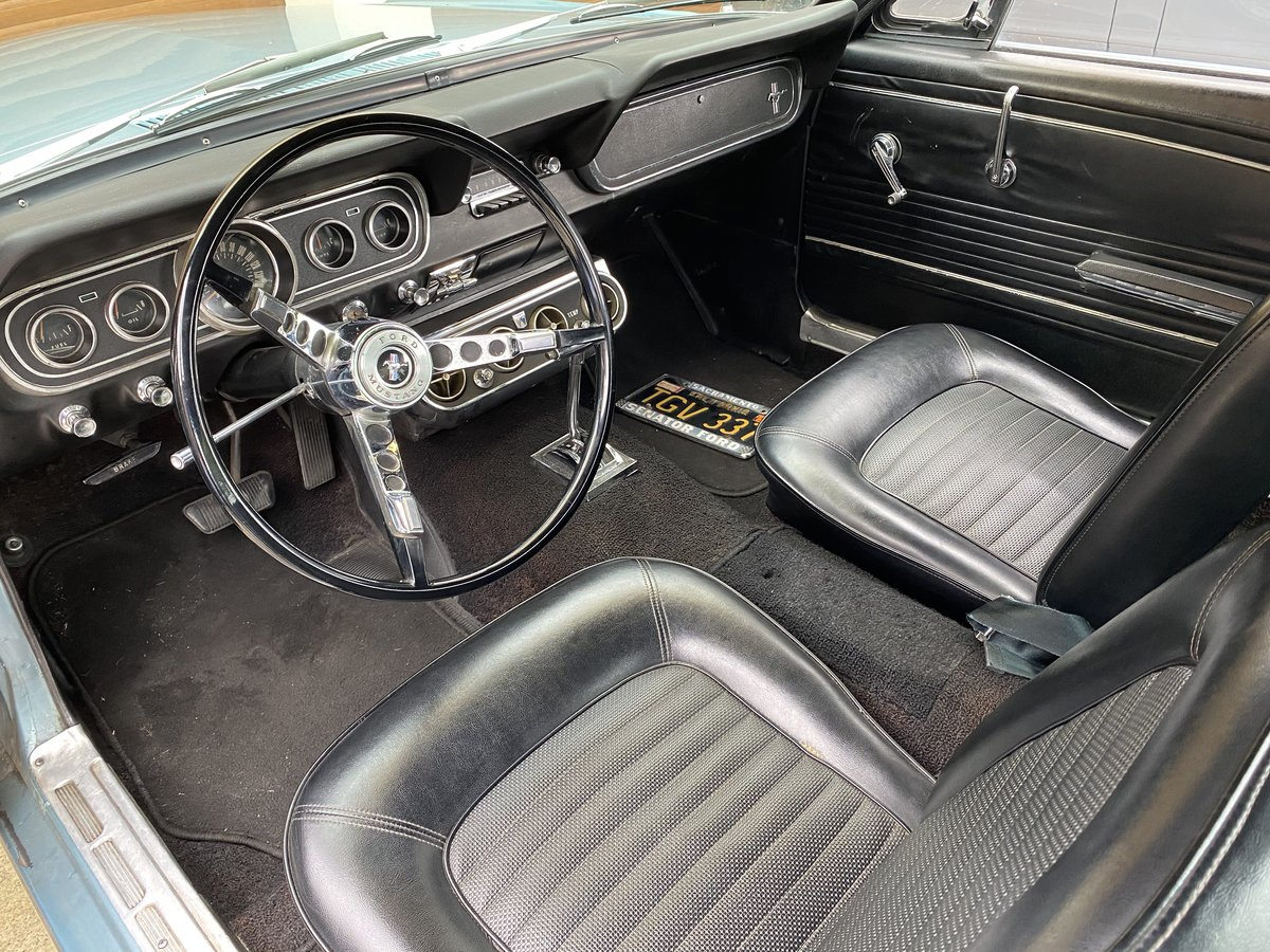 FORD MUSTANG V8 AUTO 1966 TOP FAC OPTIONS CALIF CAR MINTER! For Sale (picture 5 of 6)